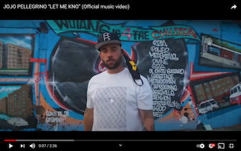JoJo Pellegrino - Let Me Kno video