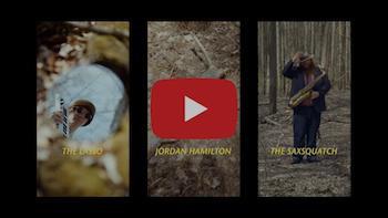 The Lasso, Jordan Hamilton The Saxsquatch - They and I video