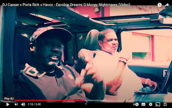 DJ Caesar x Porta Rich x Havoc - Escobar Dreams G-Money Nightmares video
