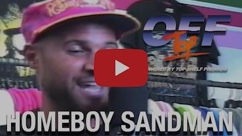 Homeboy Sandman - Off Top Freestyle (Top Shelf Premium)
