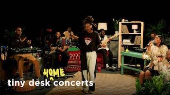 Little Simz - Tiny Desk (Home) Concert