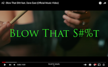 AZ v - Blow That Sh!t video